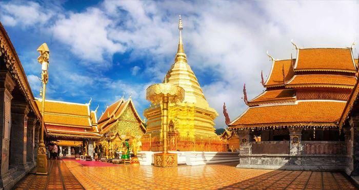Wat Phra That Doi Suthep Thái Lan