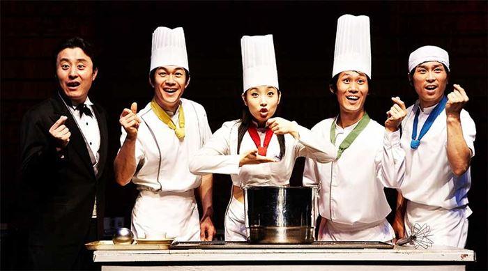 Show Cooking Nanta vở kịch đầu bếp nổi tiếng