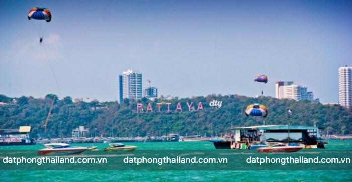 Các bãi biển ở Pattaya rất đẹp và có nhiều hoạt động thú vị