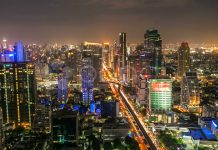 Bangkok in night