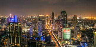 Bangkok in night