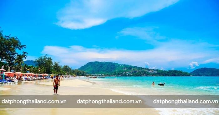 Bãi biển Patong tuyệt đẹp