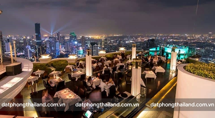Sky Bar – lebua at State Tower gắn liền với Hangover II của Hollywood