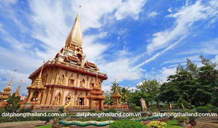 Wat Chalong - ngôi đền độc đáo nhất ở Phuket