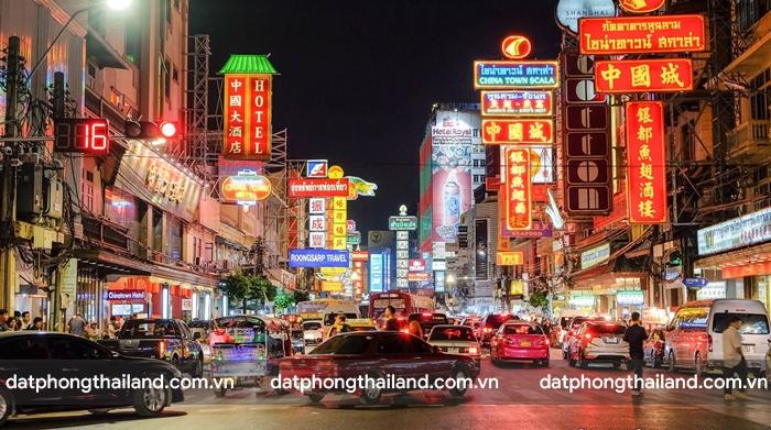 Chinatown ở Thái Lan là khu phố Tàu lớn nhất Châu Á