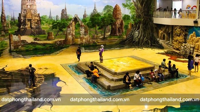 Bảo tàng tranh nghệ thuật 3D Pattaya - Bảo tàng 3D lớn nhất Thái Lan